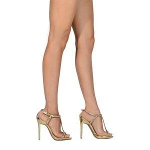 Qupid Women's Gladly-41 Dress Sandal